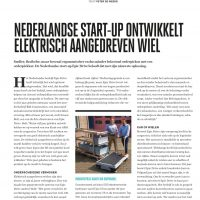 Nederlandse start-up ontwikkelt elektrisch aangedreven wiel